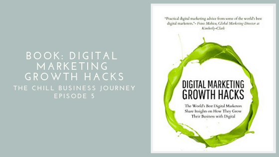 Digital Marketing Growth Hacks book cover.