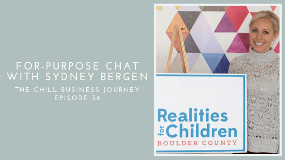 For-Purpose Organization: Realities for Children Boulder County