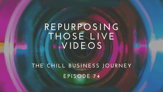 Repurposing live videos