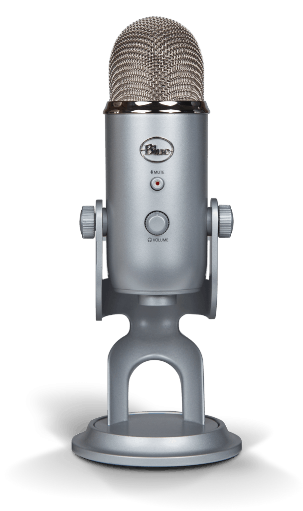 Blue yeti for live videos