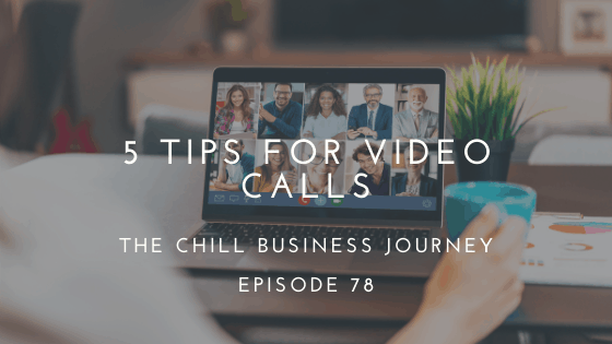 5 tips for video calls